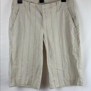 Women's banana republic stretch shorts size 6
